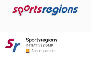 Application sports régions.